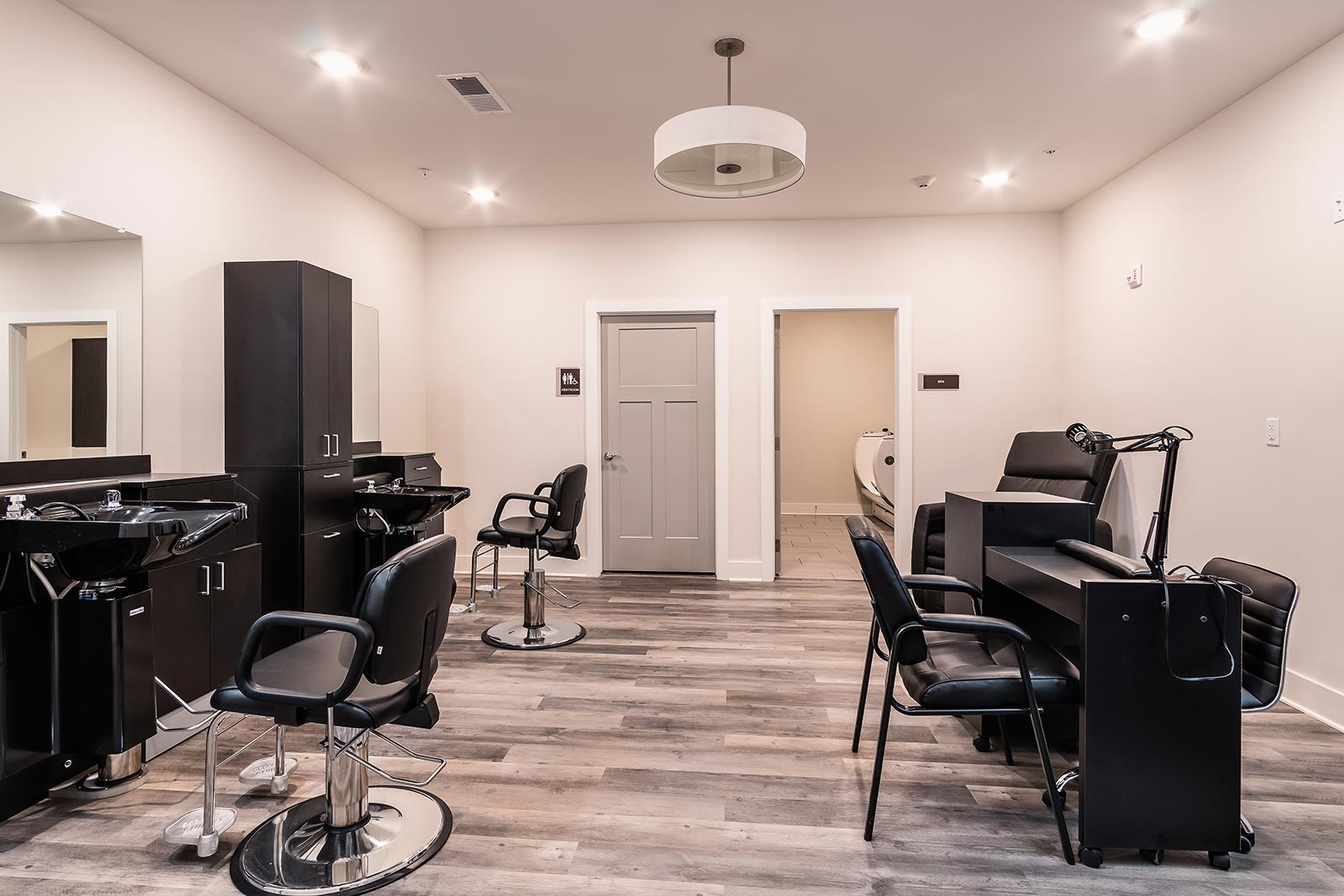 On-site beauty salon and barber shop in our Plant City FL assisted living and memory care community